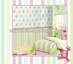 Baby room decorative wallpaper kids room decoration wallpaper sale