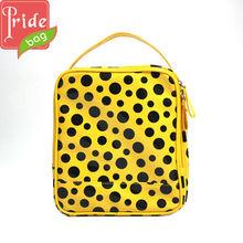 Fashion Polka Dot PU Cosmetic Bag Toiletry Kit Makeup Cases