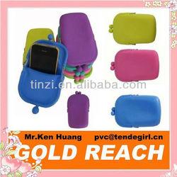 Custom Silicone Mobile Phone Bags