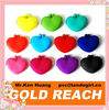 Heart Shaped Pochi Silicone Coin Purse Wallet