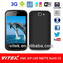 Factory made 4inch dual sim android mobile phone sale
