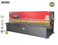 ANHUI LAIFU ACCURL brand QC11Y hydraulic metal guillotine, hydraulic mechanism, mechanical shearing machine