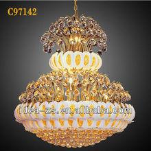 C97142 Luxury gold chandelier, luxury gold furniture, luxury lamp