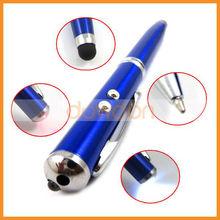 4 in 1 Laser Pointer LED Stylus Pen Multi Function Stylus Pen