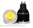 COB GU10 led spotlight 7/8w replace 50W halogen 3 years warranty