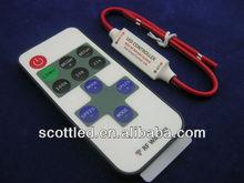 11 key dc 5-24v remote control mini rgb led rf controller
