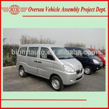 Super Cool A/C Gasoline Engine LHD China mini van