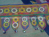 Door Hanging Bandhanwar Toran with Embroidery and Sequins Work