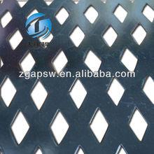 Diamond Shaped Opening Perforated Sheet
