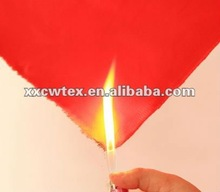 Custom-made fluorescent anti-static and flame retardant fabric