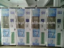24 hours Automatic Vending Machine for auto Washing Bottle model Fresh Water Vending Machine/400 GPD