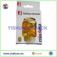 pvc gel wine chiller bag
