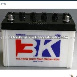 High Quality 3K N70 (70 AH) Dry Charged Car Battery