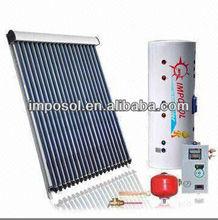 Imposol SRCC 2013 ETC type Solar Hot water heaters energy