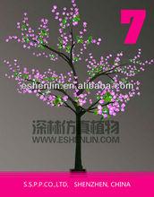 colorful led trees,decorative light up flower tree