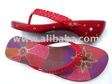 Handpainting Flip Flop Sandals