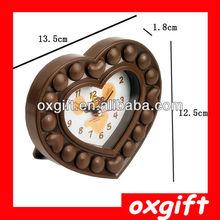 OXGIFT Supply creative fashion Love chocolate alarm clock