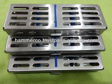casetes de esterilización dental instrumentos ortodontic bandeja dental