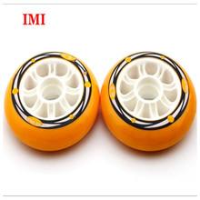 Speed High Rebound Polyurethane Axle Inline Roller Skates PU Single Wheels Quad Roller Skates Wheels