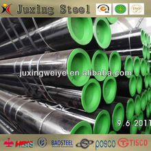 API5L X42,X46,X52 black painting steel pipe/oil and gas line pipe