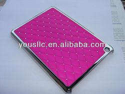 Diamond Chrome hot selling Hard MOBILE PHONE CASE For ipad mini