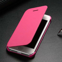 genuine leather case cover for iphone 5, for iphone 5s original case