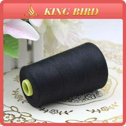 Black high quality 100% polyester 402 thread