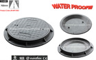 EN124 D400 Double Seal Manhole Cover and Frame/ High Quality Composite Manhole Cover/ Round Seal Manhole Cover and Frame