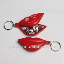 Custom Condom Keychain