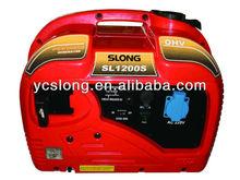 Suitcase camping mini gasoline silent generator 1kw