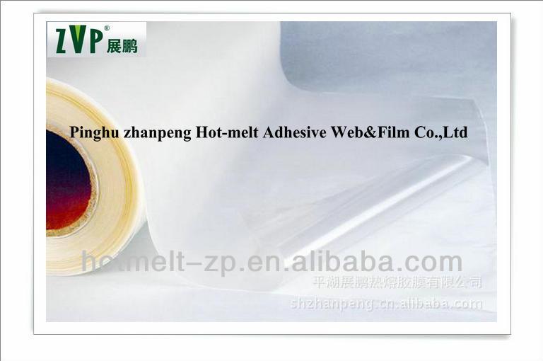 hot melt adhesive omentum for automotive interior