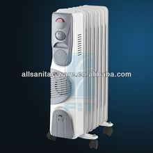 oil filled radiator heater WITH FAN