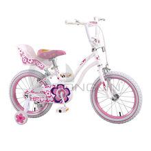 16'' Girl's BMX Bikes With Training Wheels/ Children's Bikes From China