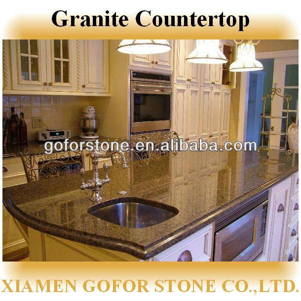 Granito de la isla de cocina de mesa gabinete de cocina de mesa