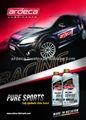Ardeca lubricantes deportes puros 5W40 y 10W60 completamente sintético éster a base de aceite del Motor