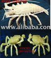 Os os sculptures d'os sculpture. crabes de homard