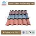 Pierre de couleur enduit japonais, tuiles toit de bardeaux