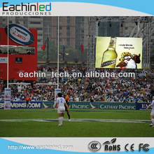 Alibaba express P16mm high-definition resolution waterproof giant video perimeter basketball led screen