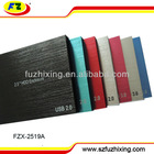 "Aluminum USB 2.0 2.5"" SATA Hard Disk Drive Caddy/Case/Enclosure for External HDD 1TB"