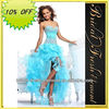 Hot Sale Good Quality Organza Sweetheart Beaded Sexy Birthday Party Dress Evening Party Dress