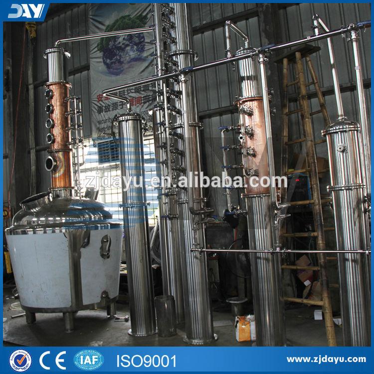 Alambic en cuivre pour la vente d'équipement distillation alcool( ce)