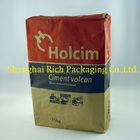 25kgs export kraft paper bag kraft bag cement bag