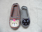 cute bear indoor slippers for baby and lady