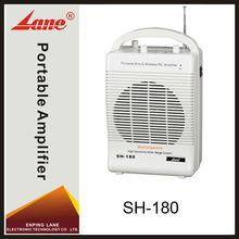 Lane SH-180 audio Wireless portable amplifier loudspeaker