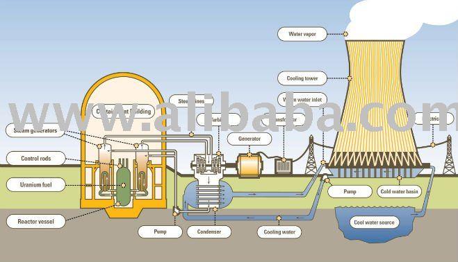Las plantas nucleares me tienen la solución No hay más del mundo de