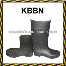 Black cheap pvc rain boots 38.5cm or 32cm height