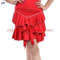 Latin vestido traje de mujer maravilla falda de baile latino l- 7037#