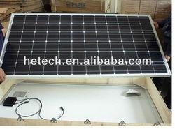 HOT 185W mono solar panel with best price per watt solar panels with TUV IEC ISO certification
