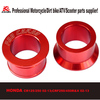 CRF250/450 Anodized Alloy Rear Spacer Sleeve