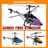 28CM length, 3.5CH Infrared Carbon fiber gyro king co. rc helicopter